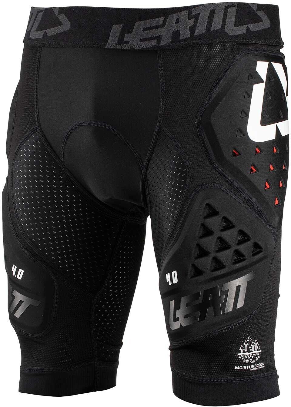 Leatt para hombre 3DF 4.0 Bicycle impacto Pantalones Cortos Bicicleta De Montaña Bicicleta de Montaña BMX