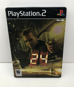 24-The-Game-Steelbook-Limited-Edition-Sony-Playstation-2-PS2-Complete-GC