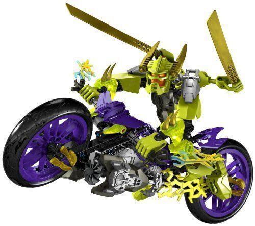 LEGO Hero Factory Speeda Demon 6231 Motorbike Bike completare scatola  Instructions  qualità ufficiale