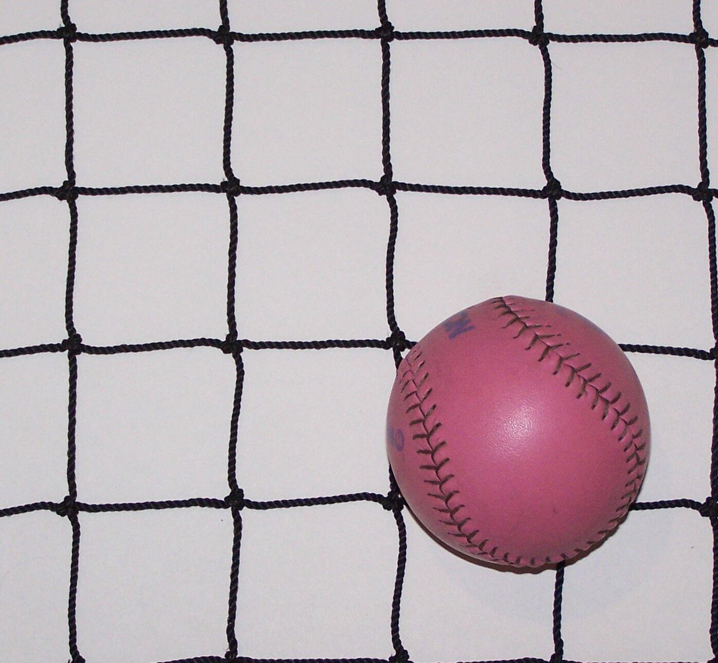 16' x 16' noir Carré Nylon Balles Rondes Cheval Foin Filet 2   42 test 400 LB (environ 181.44 kg)