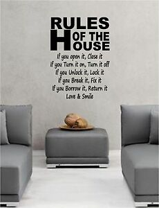 RULES-OF-THE-HOUSE-wall-art-sticker-quote-decal-bedroom-lounge