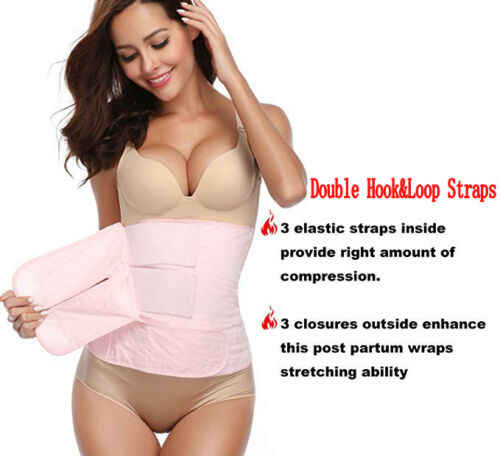 Women Post Surgery Band Postpartum Recovery Belt Girdle Belly Binder Shapewear !