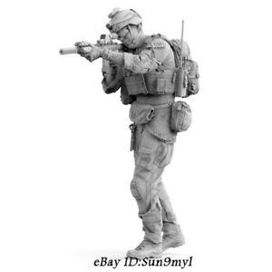 1-35-nos-Moderna-soldado-Resin-Kits-Sin-Pintar-Figura-Modelo-GK-sin-montar