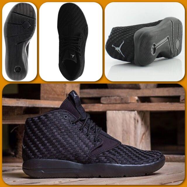 ... discount h24 jordan eclipse chukka woven black trainers gs uk 3 eu 35.5  us 3.5 881461 2c9d1ab71