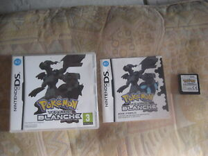 jeu nintendo ds pokemon version blanche