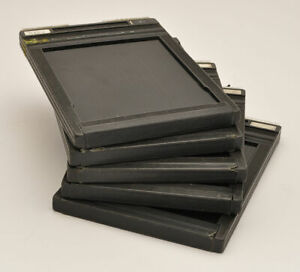 Set of 4 4 X 5 SHEET FILM HOLDER