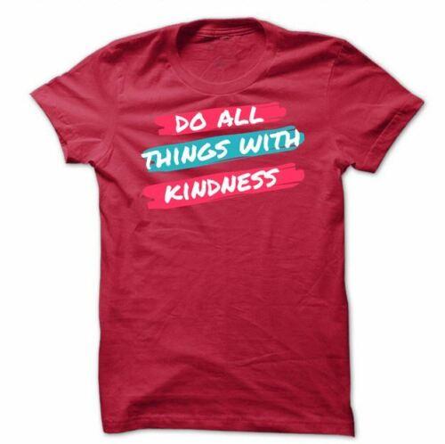 Gym Rabbit Awareness T Shirt ML001 Custom Tee Do All Things With Kindness