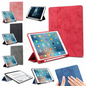 finest selection 23bca 8477f Details about Smart Leather Stand Slim Case Cover With Pencil Holder For  iPad Pro 9.7 Air 5 6