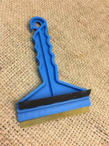 CLEARANCE LOT237290 SCRAPER BRASS BLADE RUBBER SQUEEGEE WINDOWS STICKERS PAINT