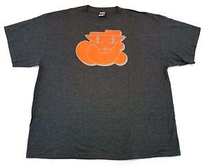 Vintage-Moody-Mutz-NYC-New-York-Graffiti-Art-3M-Dark-Grey-Tee-Size-XL-T-Shirt