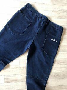 online retailer latest discount really comfortable Details about Stone Island Jeans Stone Island Pants Slim Skinny Blue Denim  W34 Cargo Trousers