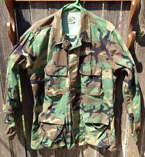 US Woodland Camouflage Combat Coat Medium Long 8415-01-084-1648