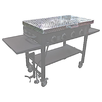 Titan Great Outdoors Diamond Plated Aluminum Grill Cover