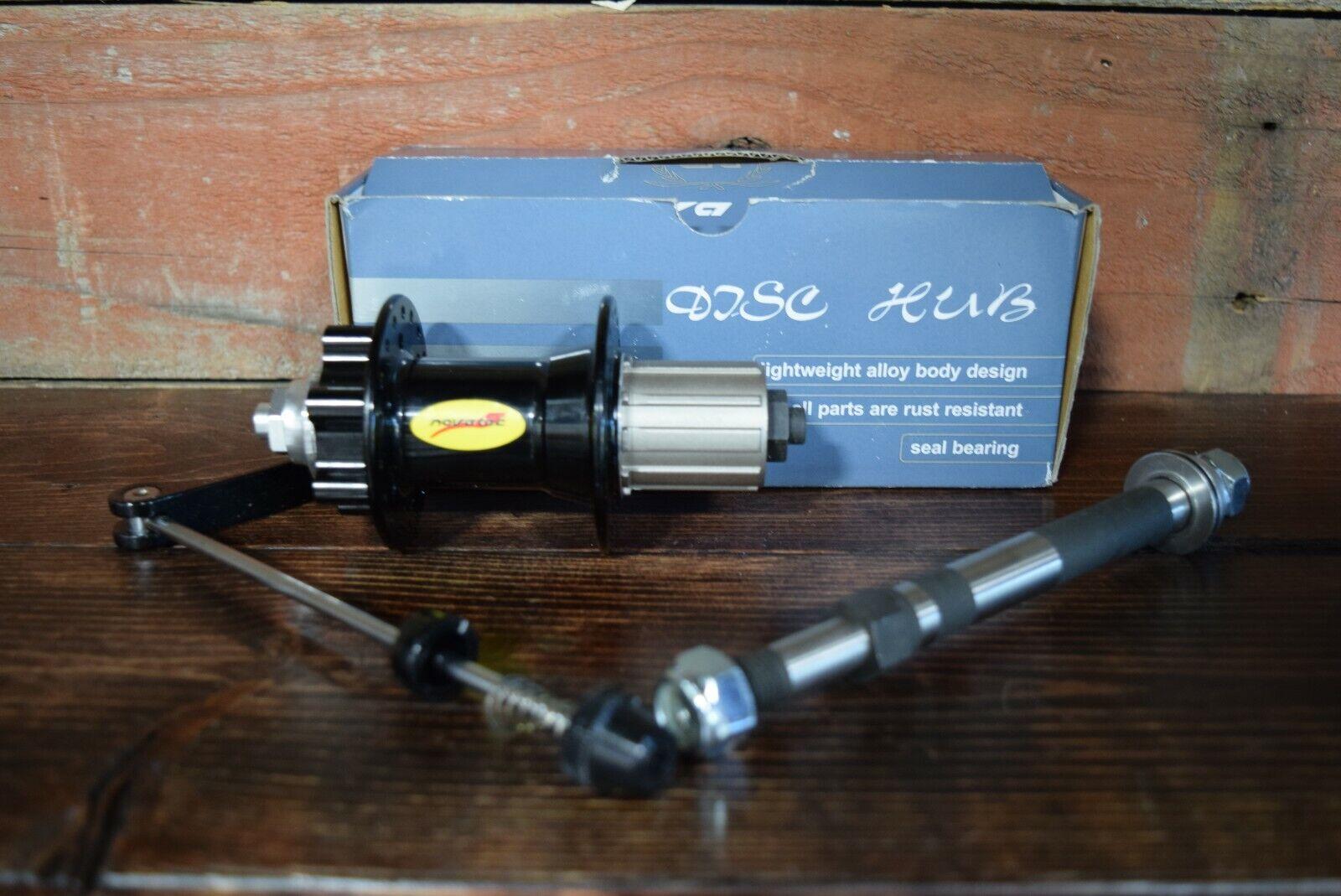 NEU NovaTec Disc Heck Hub Dichtungen Lager Widerstand 135mm QR oder Bolt auf NOS