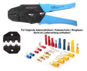 KFZ Crimp-Zange für isolierte und unisolierte nicht isolierte Kabelschuhe LY-03C