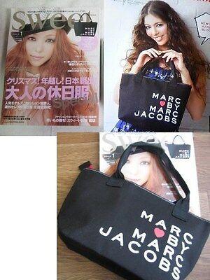MARC By Marc Jacob black handbag mini tote zipper lunchbox bag recycle shopper