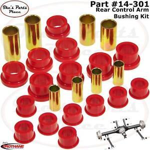 Suspension Control Arm Bushing Kit Rear PROTHANE 7-301-BL
