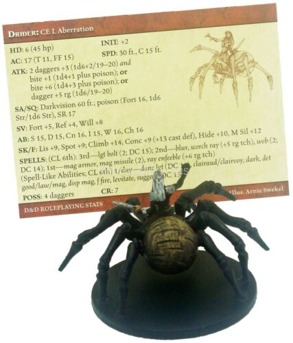 Dungeons /& Dragons Desert of Desolation Miniatures Game Wizards of the Coast