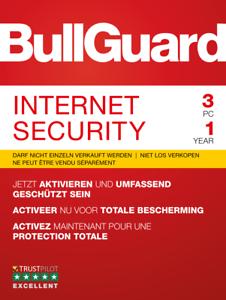 Bullguard Internet Security 2019, 1 / 3 / 5  PC Windows / KEY 365 TAGE