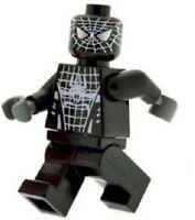 Custom Minifigure Black Spiderman Printed on LEGO Parts