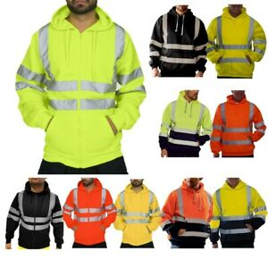 Men-Reflective-Tops-Road-Work-High-Visibility-Hooded-Pullover-Sweatshirt-Coats