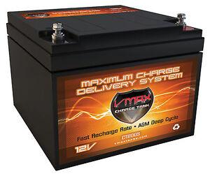 Vmax 800s Wheelchair 28ah Agm Battery Replaces Eaglepicher