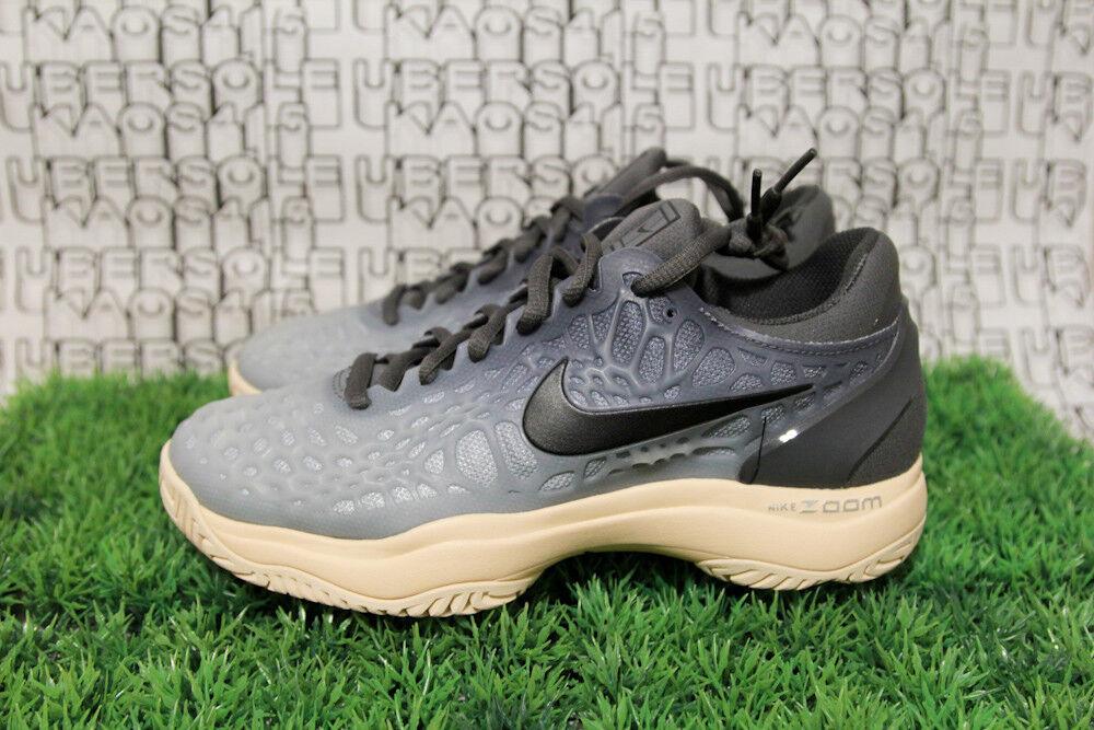 Nike Air Zoom Cage 3 TENNIS PEACH/Black/Grey HC vapor lg WOMEN 6.5