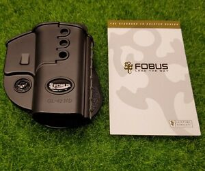 Fobus Evolution Paddle Holster (Right Hand) Glock 43x 43 & 48 - GL43ND