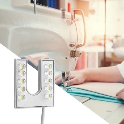 10 LED Nähmaschine Lampe Leuchte Licht Magnetfuß 140 cm für Nähmaschinen