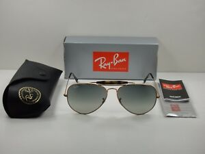 157ae9b0d41bf RAY-BAN OUTDOORSMAN II SUNGLASSES RB3029 197 71 BRONZE FRAME GREY ...
