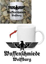 Waffenschmiede Wolfsburg Tasse Kaffeetasse WH Adler Car Coffee Mug Eagle