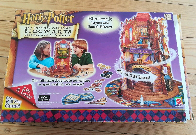 Harry Potter Adventure Through Hogwarts Electronic 3-D Game Game Game 2001 (MATTEL) 7ef873
