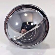 Universal Chrome LED  License Plate Light Round Trailer ATV Hot Rod