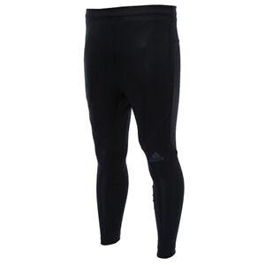 Adidas Men Workout Climalite Training Pants L//S Gray Black Football Pant CG1509