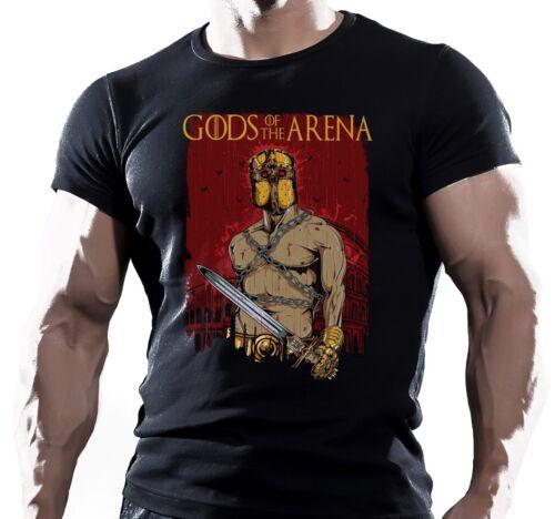 DEI DELL/'ARENA Spartan MMA Lotta Allenamento motivazione Da Uomo T Shirt