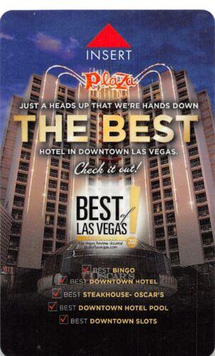 USA-21645 Plaza Hotel Casino Hotel Key Card The Best