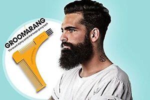 Beard Shaping Comb Tool For Neck Cheek Goatee Line Shape Symmetry