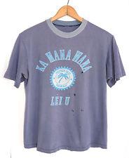 Vtg 70s Honolulu Hawaii Beach Lei Surf T-shirt L Sex Tropical Funny Poly Tees