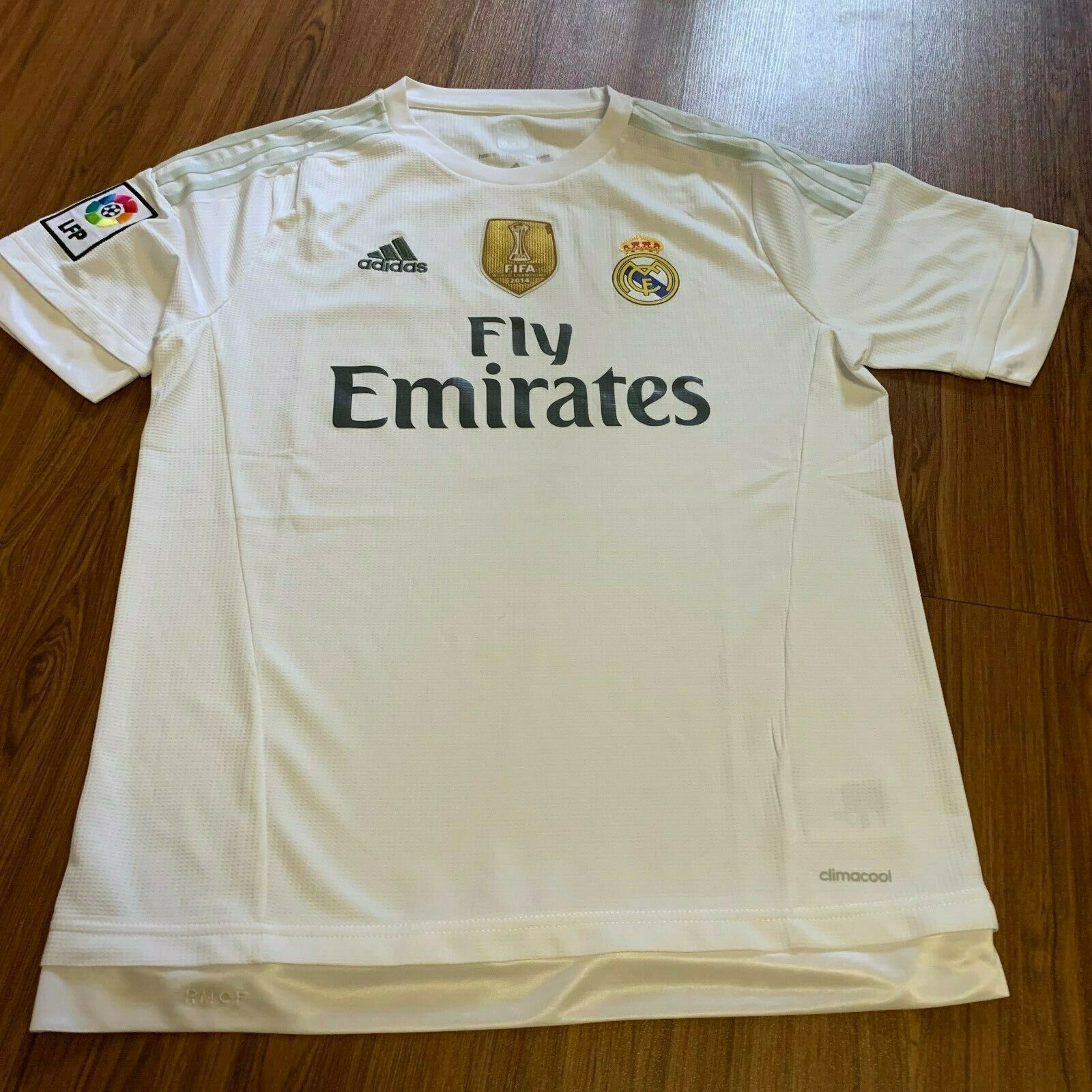ADIDAS MAGLIA HOME Real Madrid 2015 2016 MAGLIA Talla-L