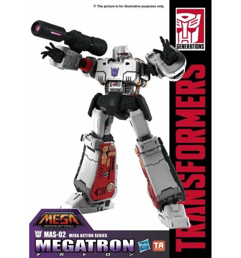 Toys Alliance - MAS-02 - Megatron Mega 18  Action  Figure - 46cm