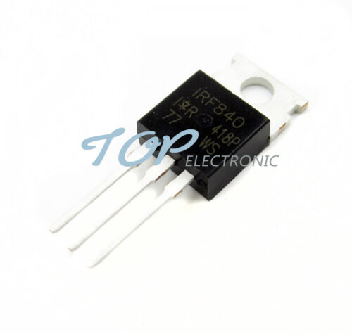 20pcs IRF840N IRF840 N-channel 8A 500V MOSFET TO-220 IR Transistor  Best