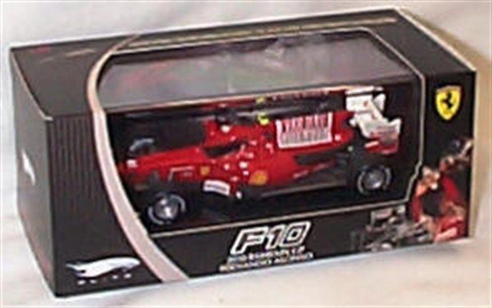 Ferrari F10 2010 Bahrain GP Fernando Alonso 1-43 Scale New in box ltd ed