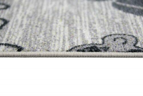 Fabric Dish Cooking carpet with Coffee Grey Sisal