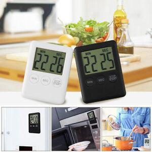 d2bf820a4cd4 La imagen se está cargando Temporizador-Digital-Recordatorio-Alarma-LCD-de- Cocina-Reloj-