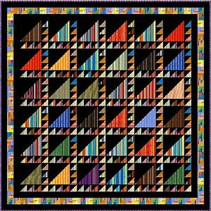ARABIAN-NIGHTS-88-5-034-Quilt-Addicts-Precut-Patchwork-Quilt-Kit-Queen