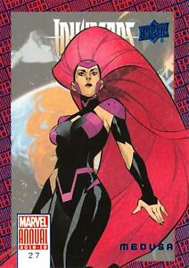 Upper Deck 2018-2019 MARVEL ANNUAL SCARLET WITCH BASE Trading Card #88