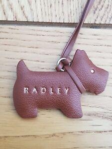 Genuine Radley Leather Dog Tag Handbag Charm