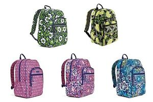 NWT-Authentic-Vera-Bradley-Campus-Backpack