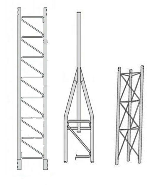ROHN 45SS020    45G Series 20' Self Supporting Tower Kit . Available Now for 832.00