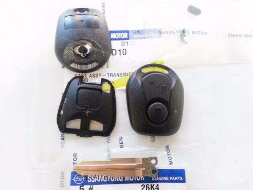 Kyron Rxton 06-10 #8717A08D10 Sports OEM Key Plate /& Case Ssangyong Actyon